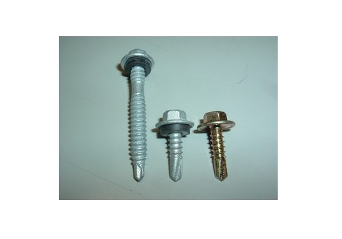 Hex Screw Steel Fix