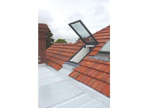 Skylight Access Hatchways